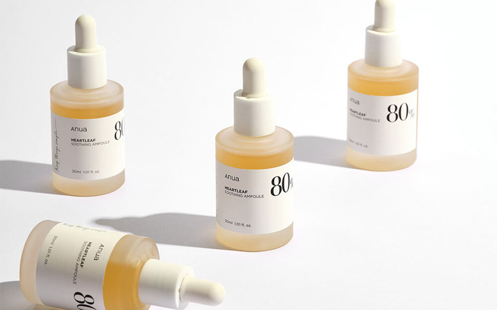 Anua's Heartleaf Soothing Ampoule Skincare