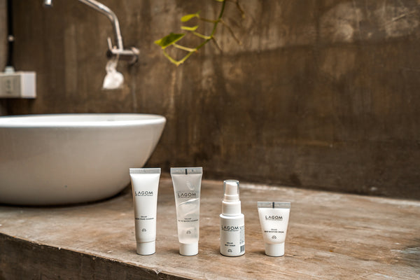 Lagom Daily Skincare Essentials Travel Set