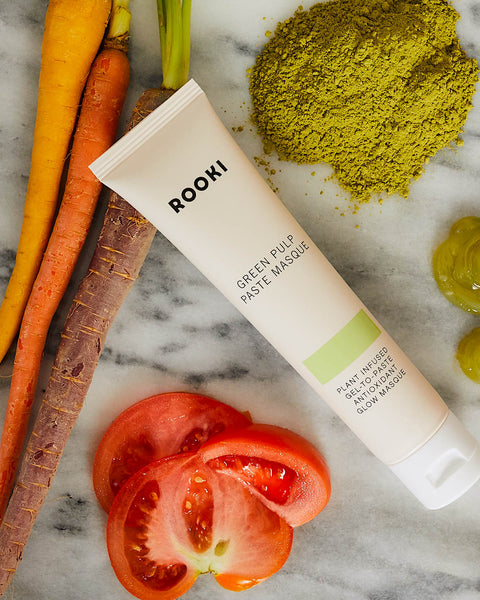 superfood rooki beauty green pulp paste masque