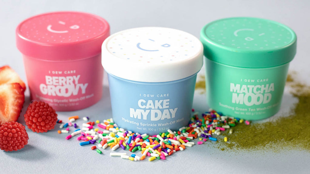 I Dew Care Ice Cream Collection Cake My Day Matcha Mood Berry Groovy