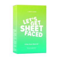 Let's Get Sheet Faced Mega Value Set - 14pc
