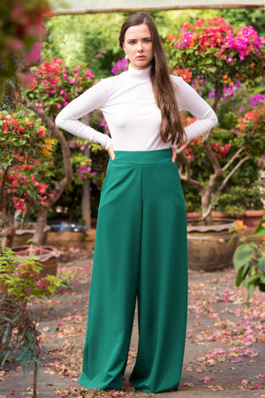 Green Amy Pants