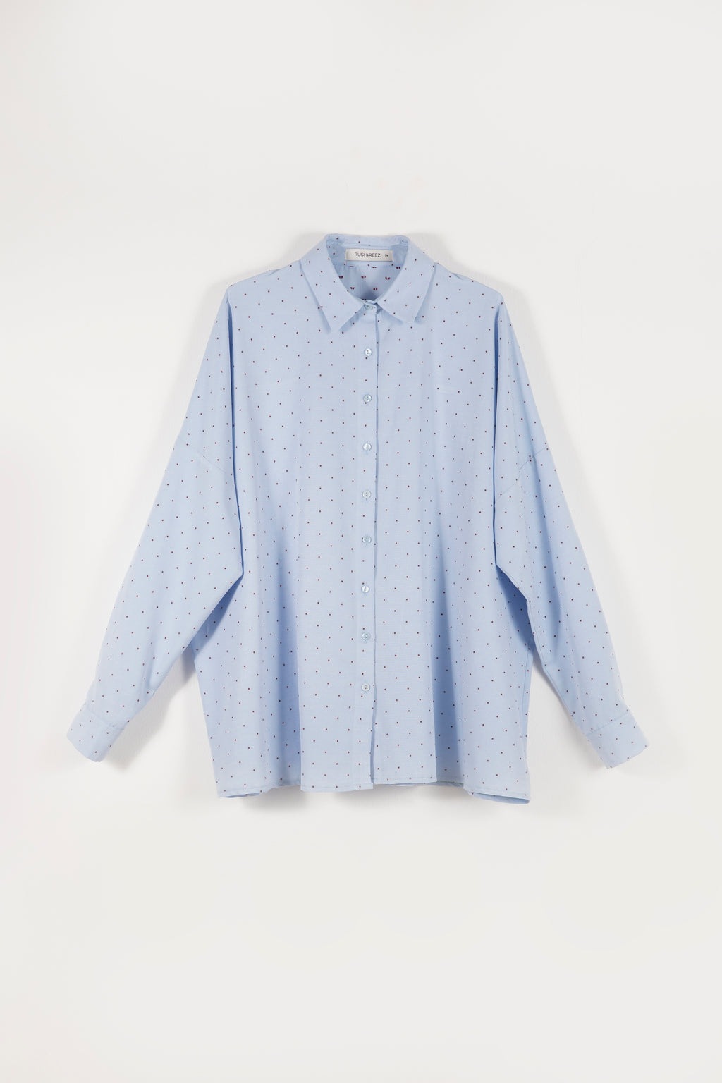 Boyfriend Shirt - Blue Pattern