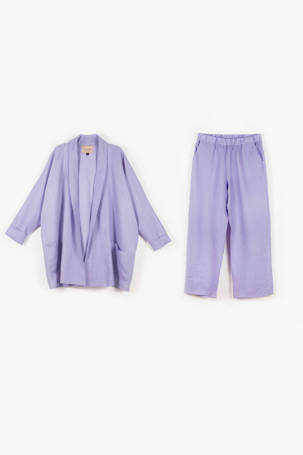 Linen Ruby Coord Set - Lilac
