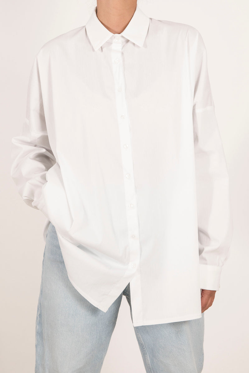 Boyfriend Shirt - White