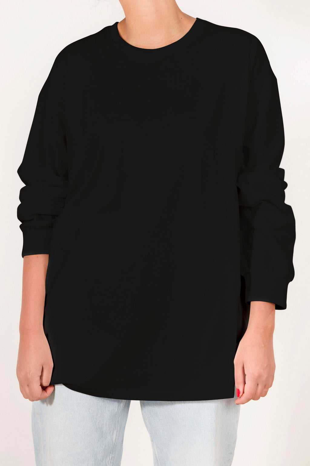 Alpha Basic Longsleeve Tshirt - Black