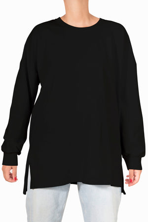Beta Basic Longsleeve Tshirt - Black