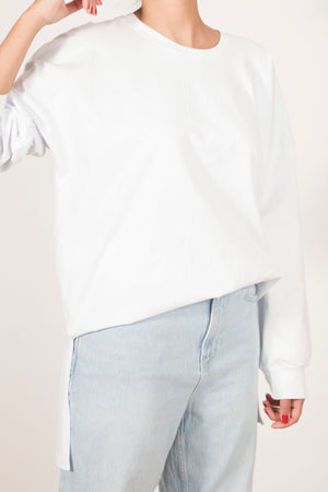 Beta Basic Longsleeve Tshirt - White