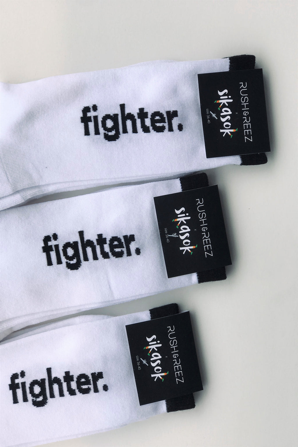 Fighter Socks - Sikasok x RUSH & REEZ