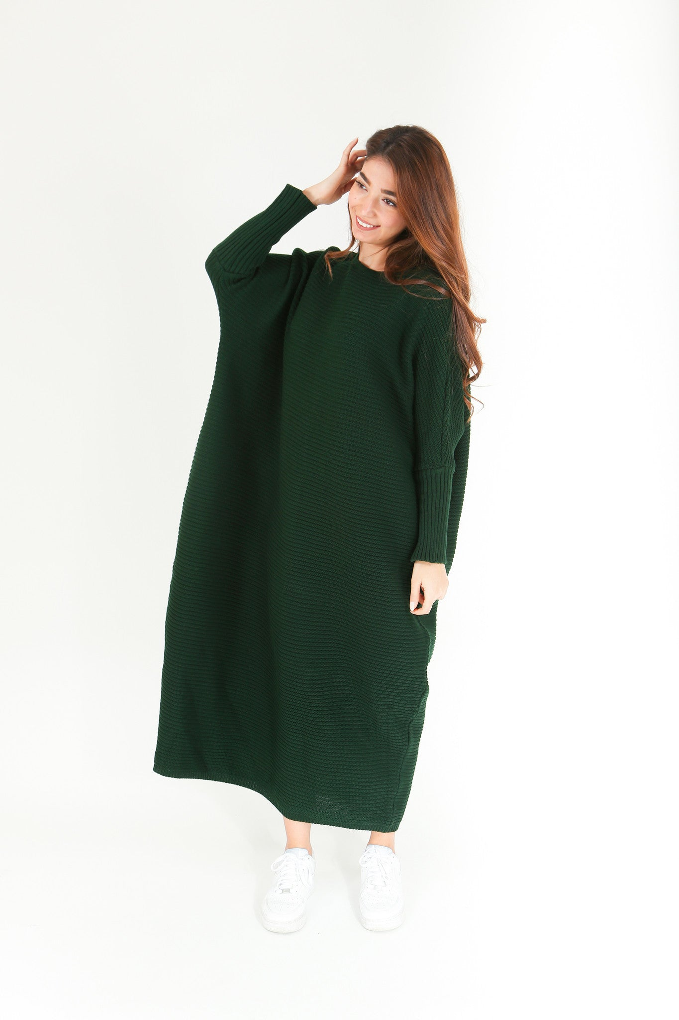 Emerald Maxi Knitted Dress