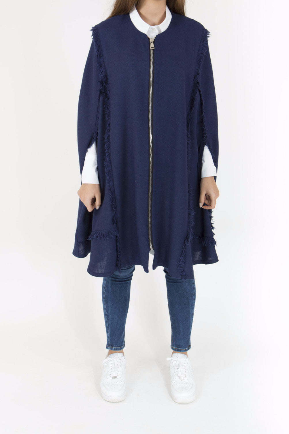 Light Navy Cape
