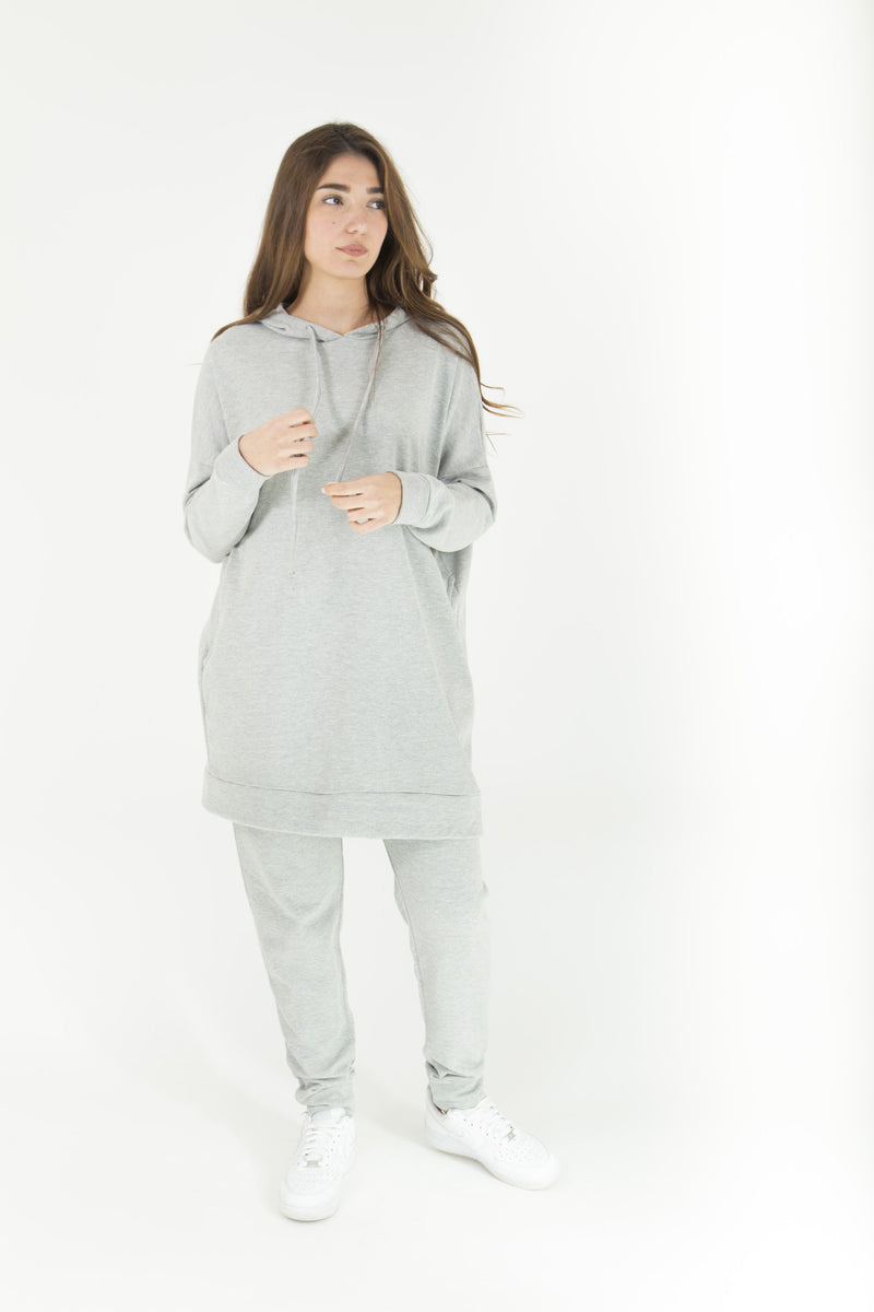 Grey Sweat Suit