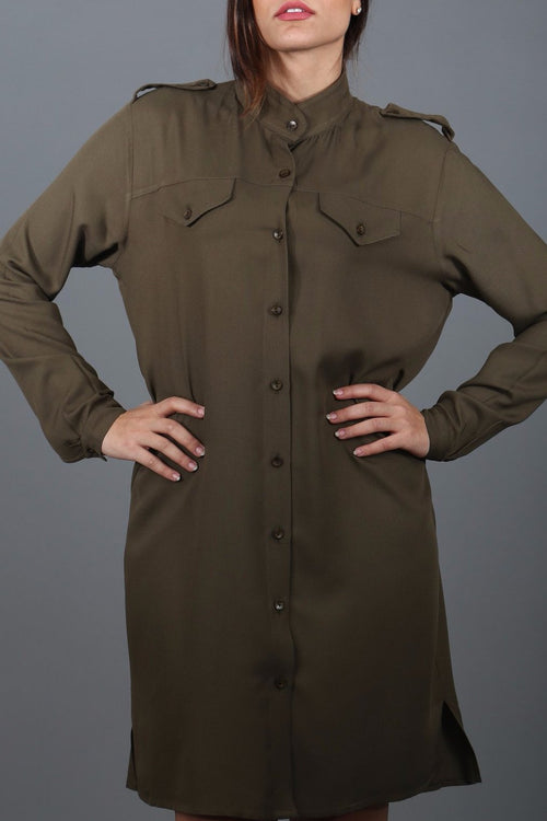 Joe Military Shirt Dress