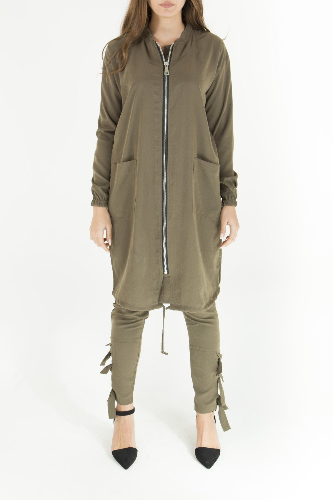 Lightweight Military Bomber Jacket