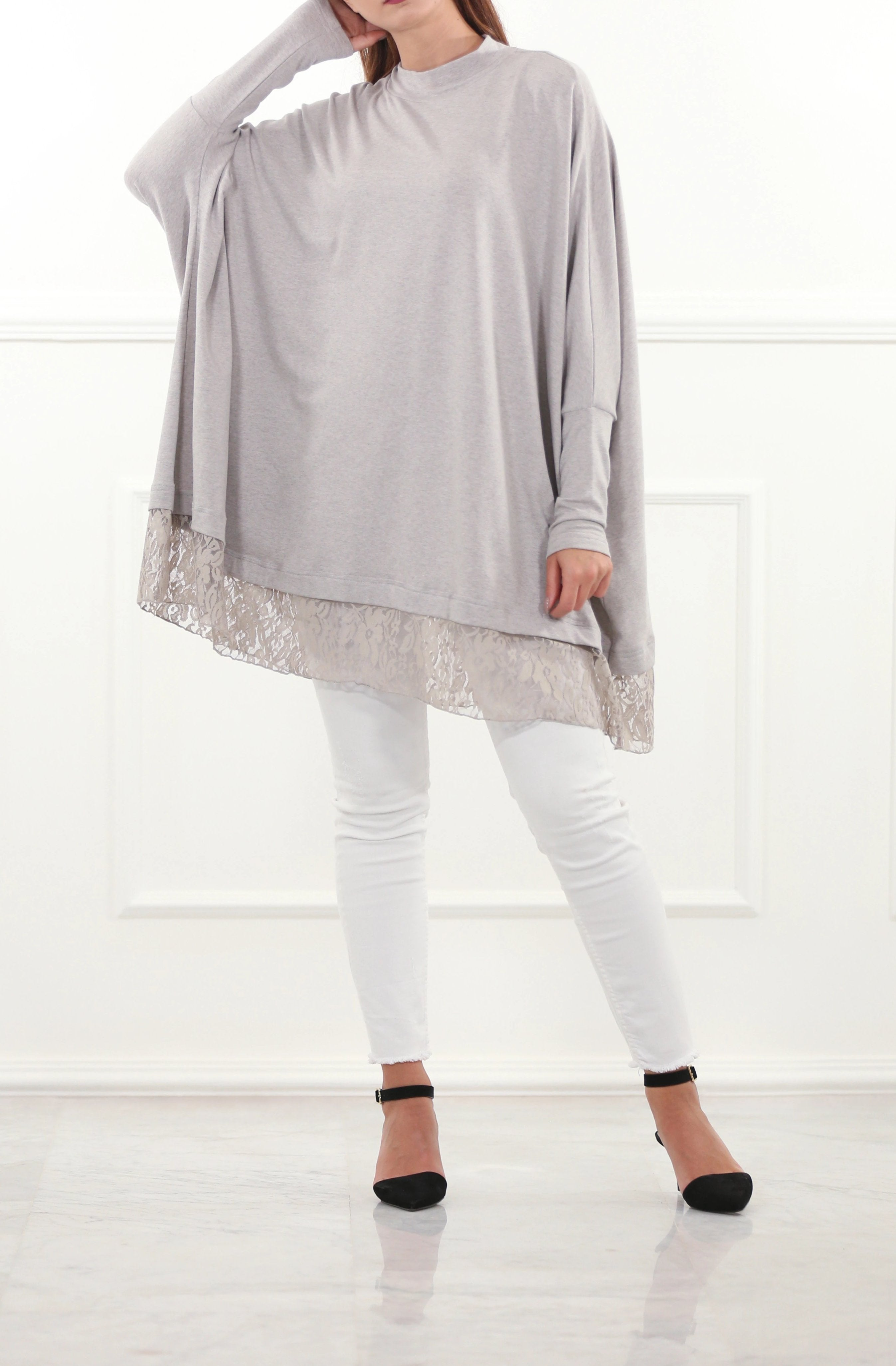 Phantom Top With Lace