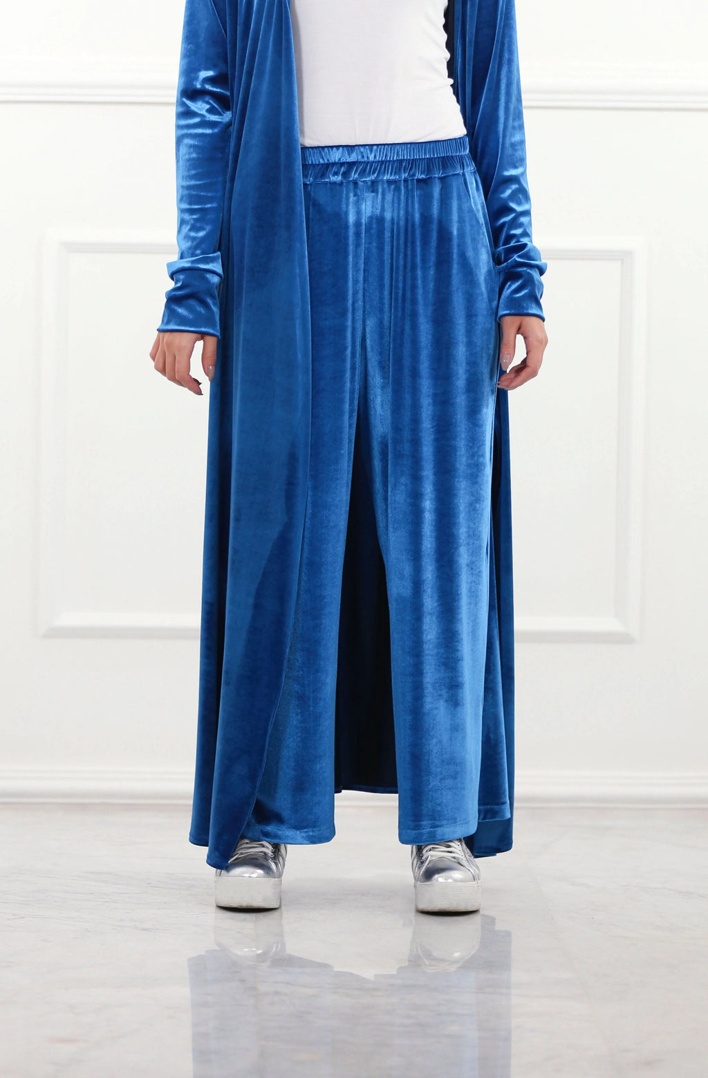 Regal Blue Velour Pants