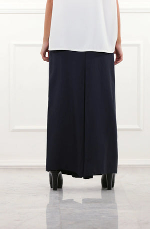 Navy Culotte Pants