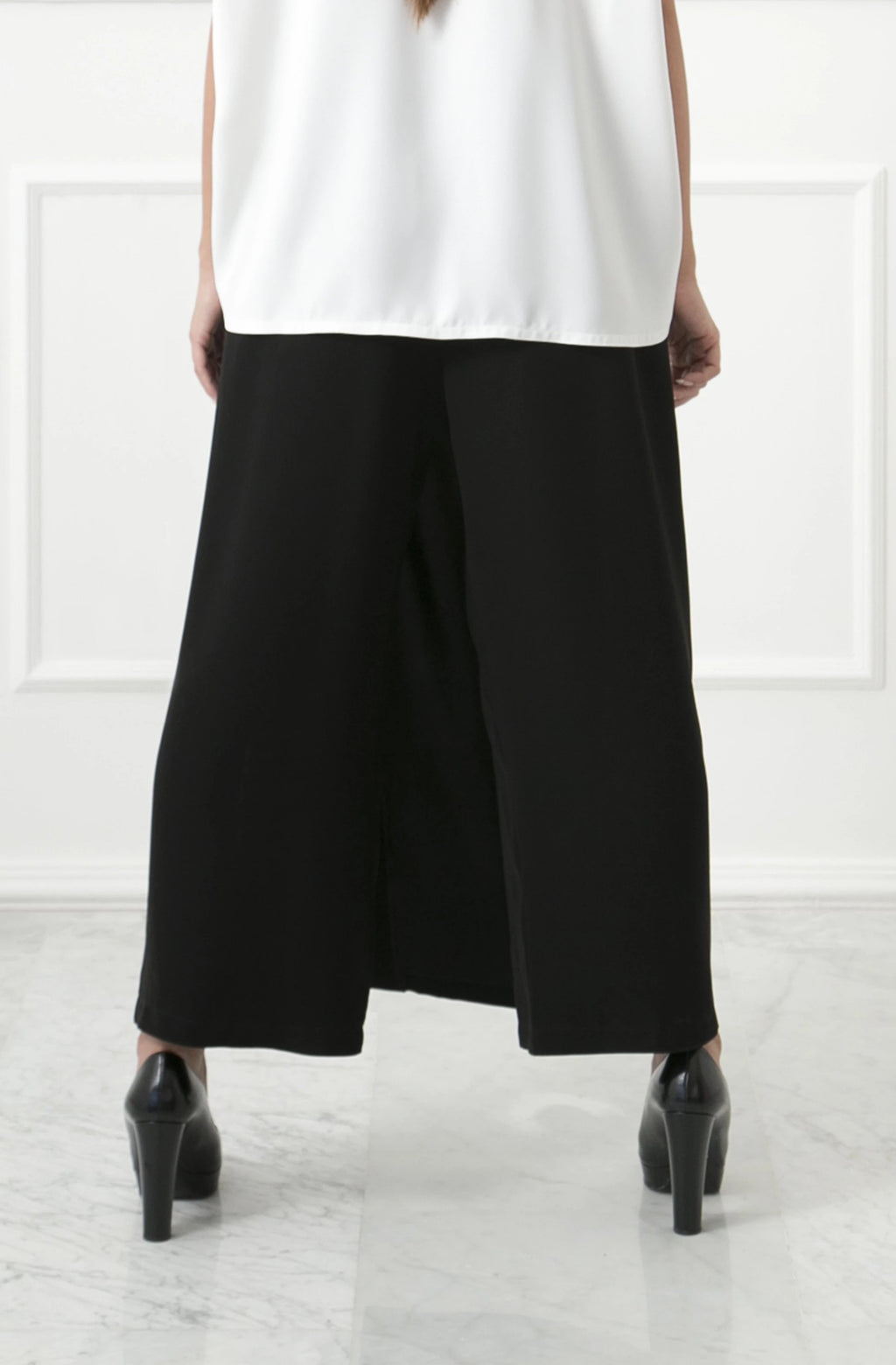 Black Skirt Pants