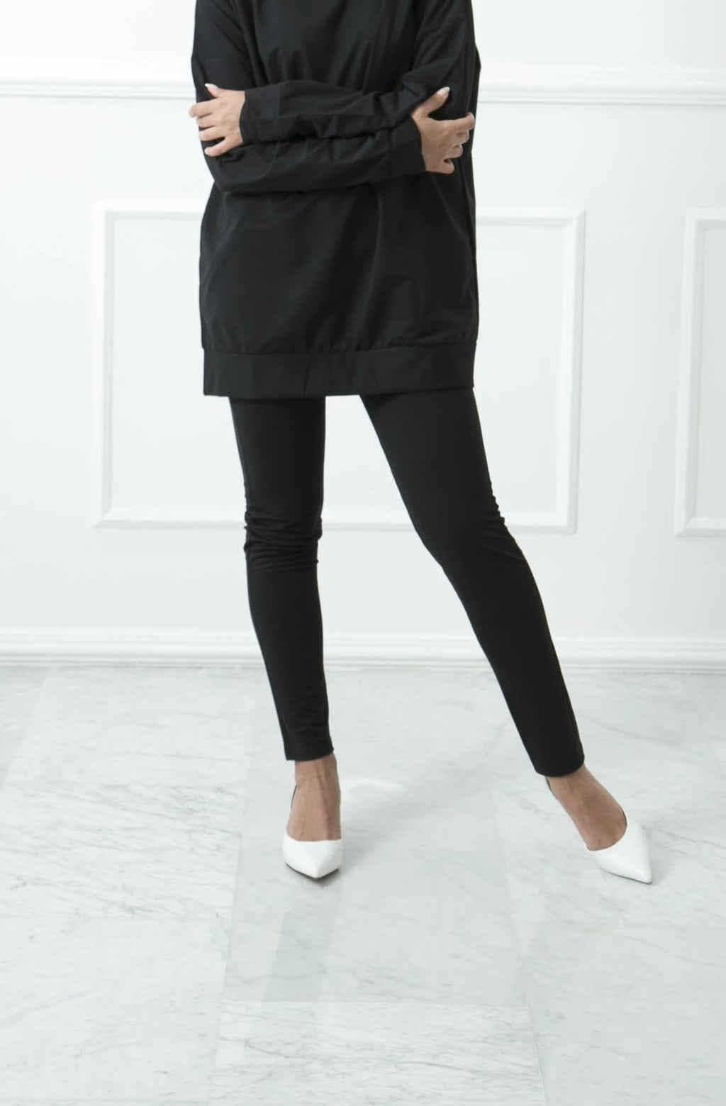 Black Slim Sweatpants
