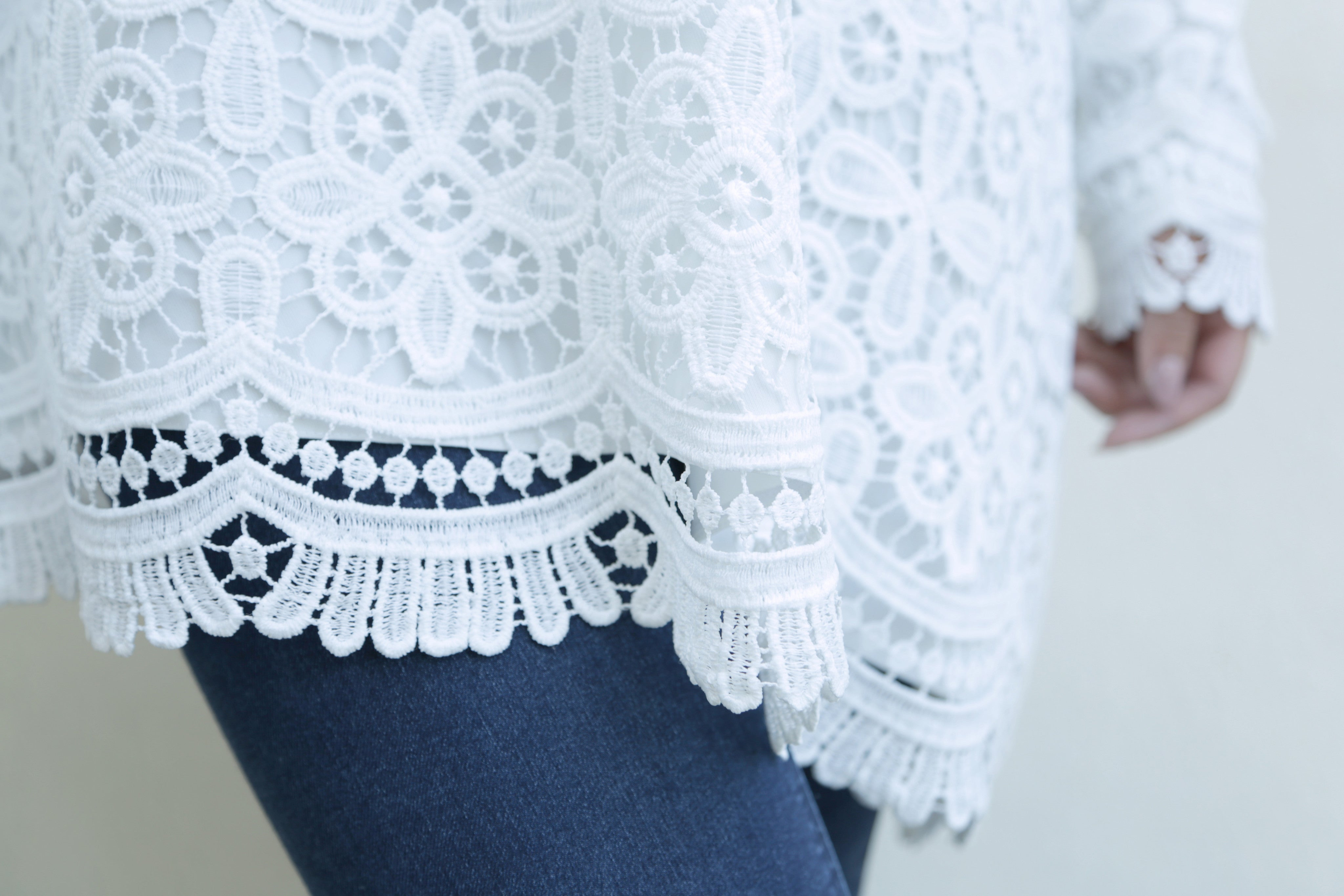 Lace Phantom Top