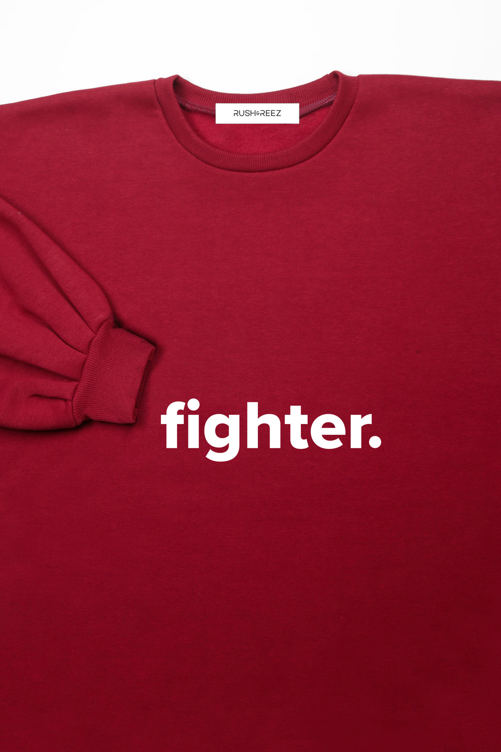Oxblood Fighter Top