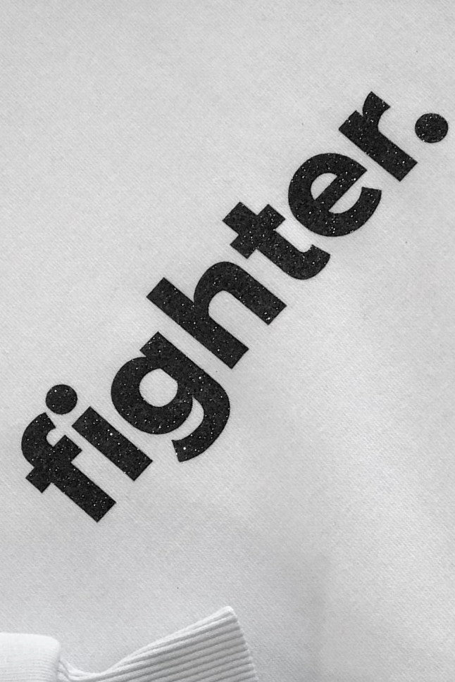 White Fighter Sweatshirt