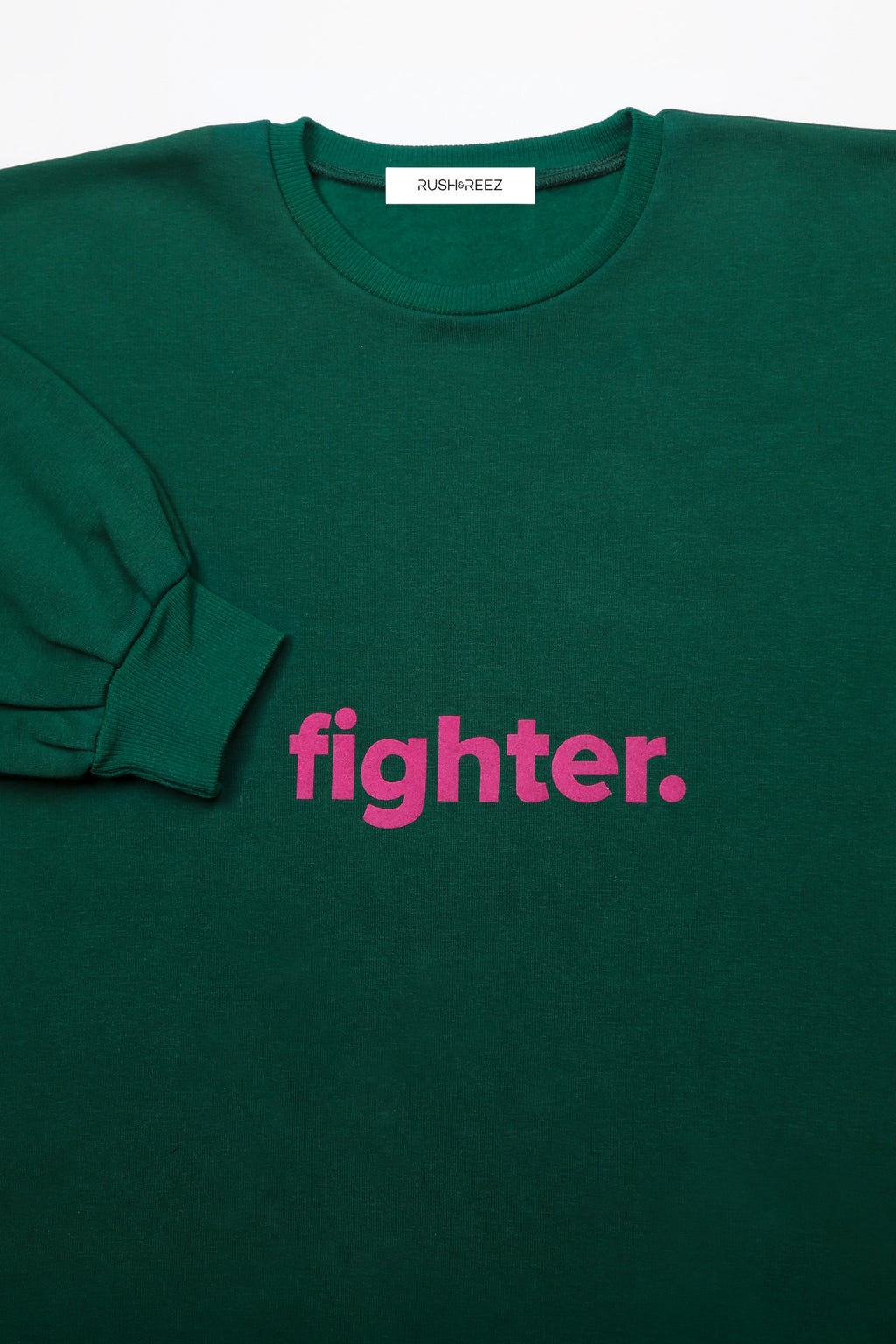 Emerald & Fuschia Fighter Top
