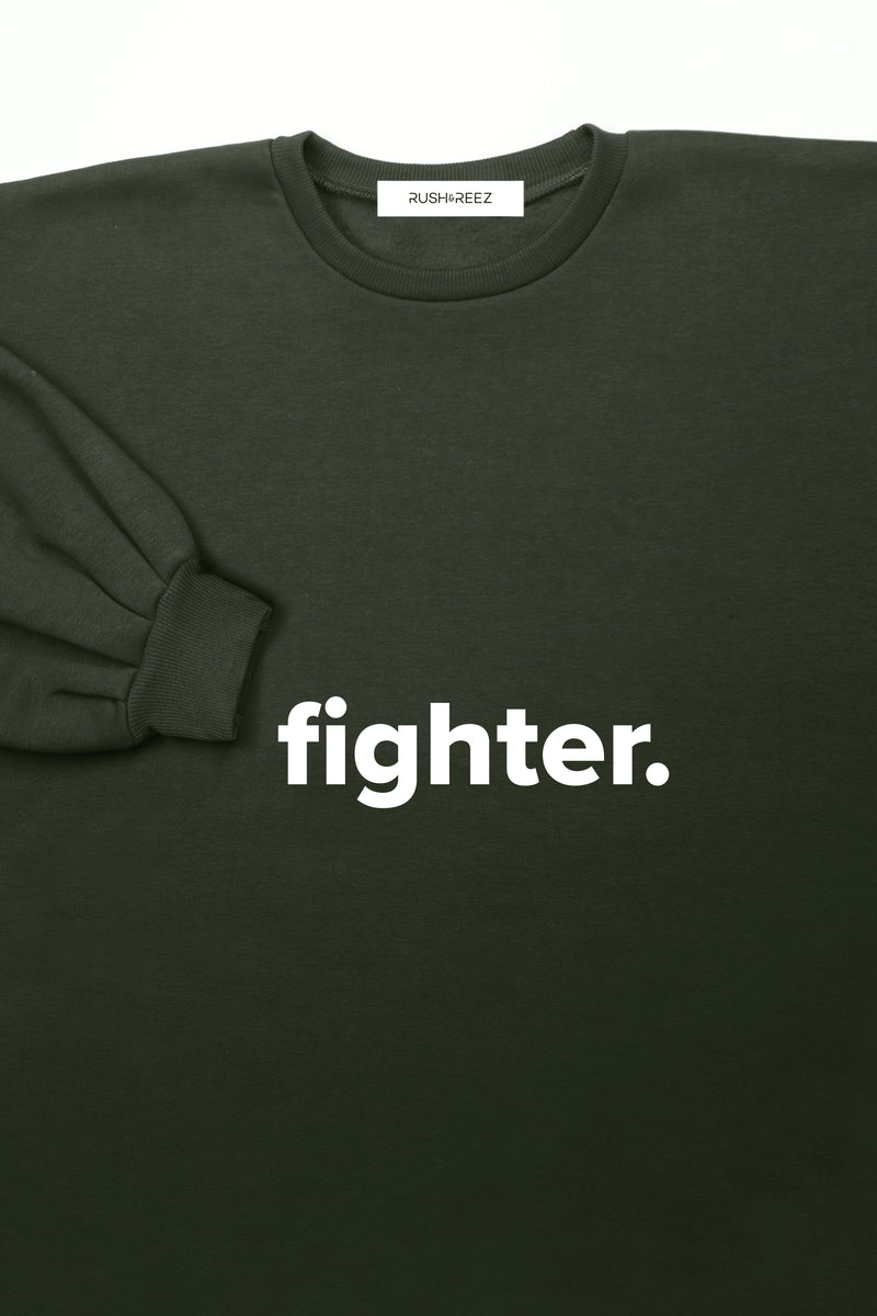 Military Fighter Sweatshirt