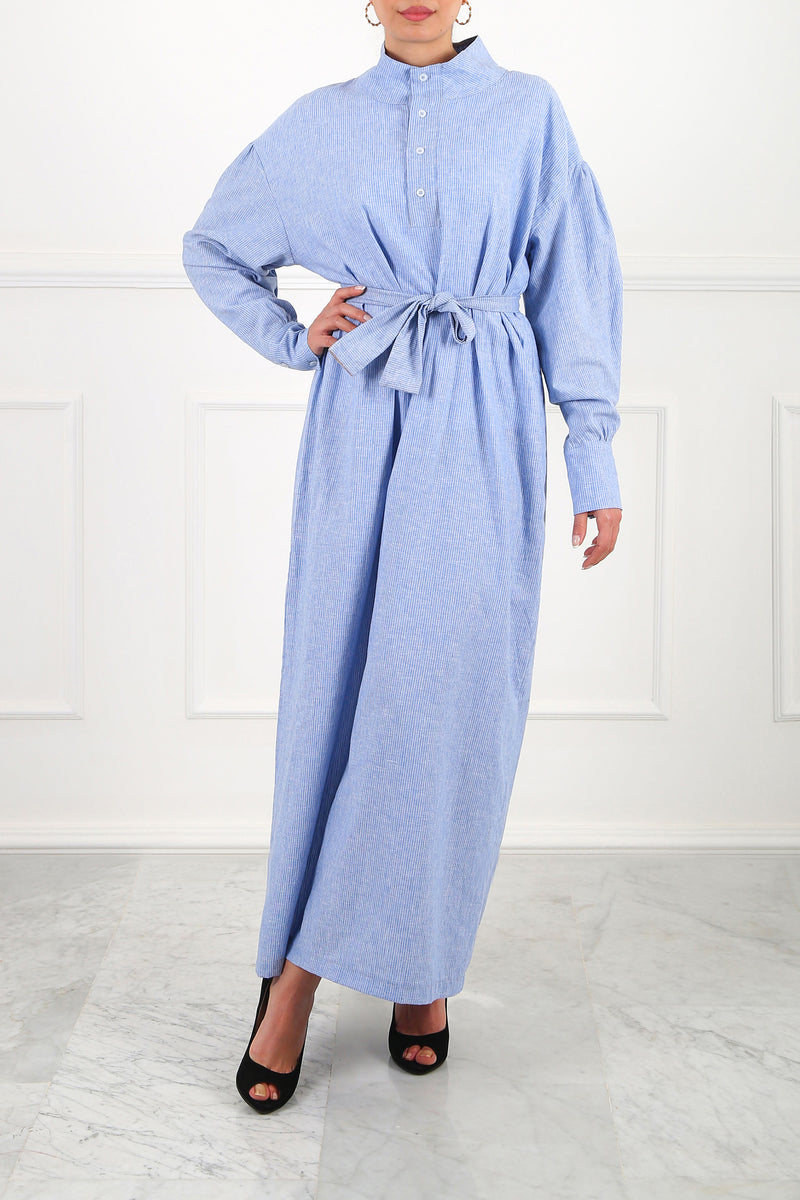 Blue Angela Maxi Dress