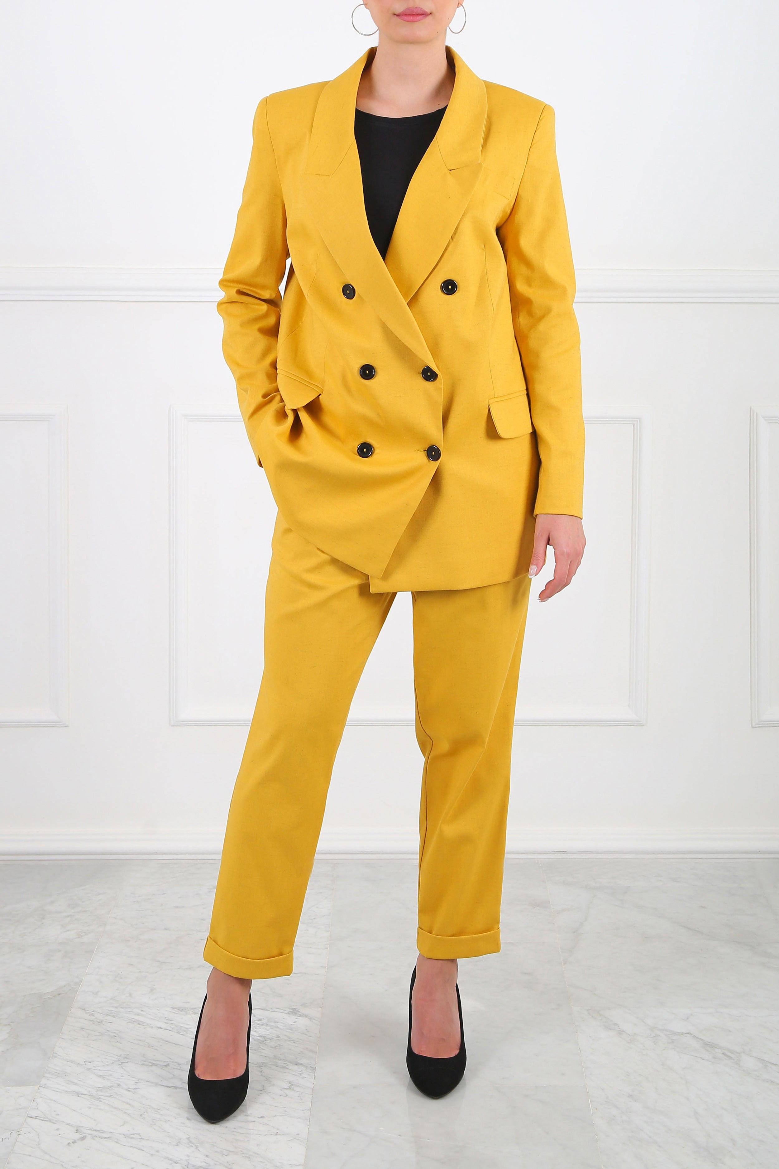 Mustard Dany Suit