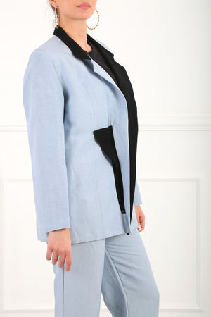 Black & Blue Magda Suit