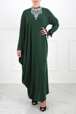 Emerald Ella Asymmetric Dress