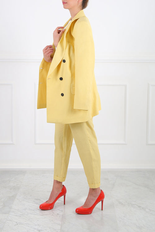 Yellow Dany Suit