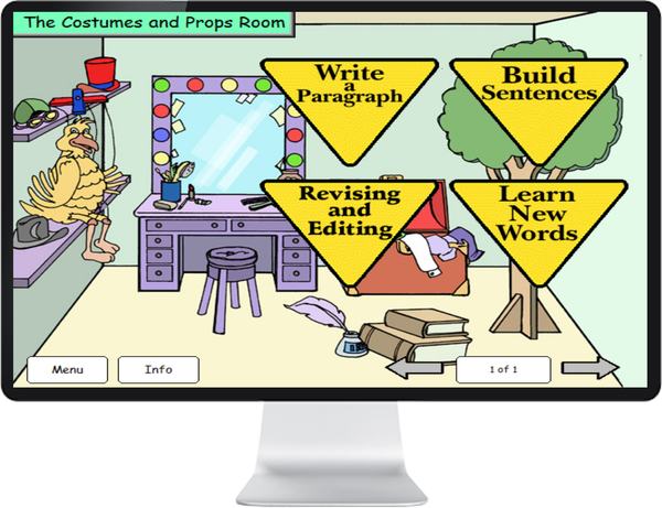 LANGUAGE ENG GRADE 3, 4 - IQ SMART LEARNING SOFTWARE  - 7