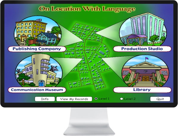 LANGUAGE ENG GRADE 5, 6 - IQ SMART LEARNING SOFTWARE  - 1