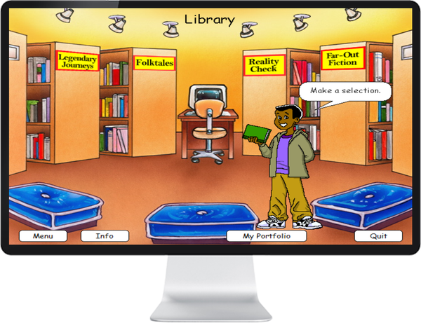 7 DAY FREE TRIAL -  LANGUAGE ENG GRADE 5, 6 - IQ SMART LEARNING SOFTWARE  - 8