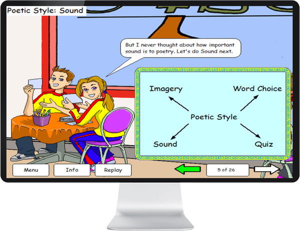 LANGUAGE ENG GRADE 7, 8 - IQ SMART LEARNING SOFTWARE  - 7