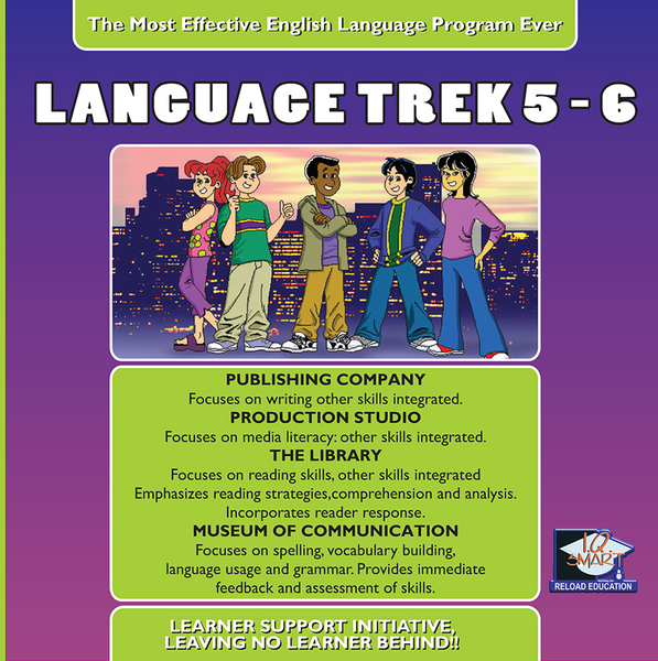 7 DAY FREE TRIAL -  LANGUAGE ENG GRADE 5, 6 - IQ SMART LEARNING SOFTWARE  - 9