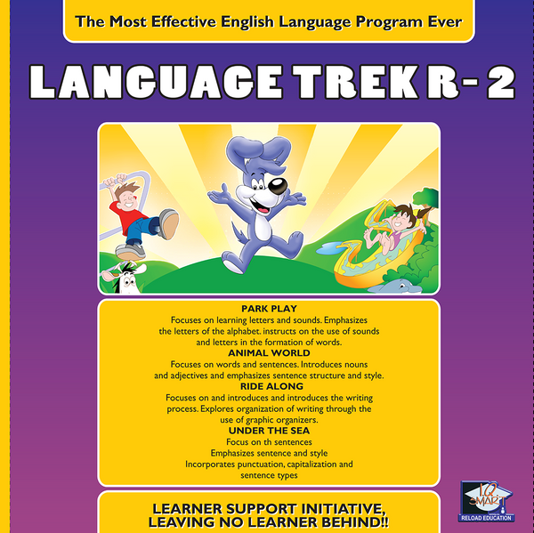 LANGUAGE ENG GRADE R, 1, 2 - IQ SMART LEARNING SOFTWARE  - 10