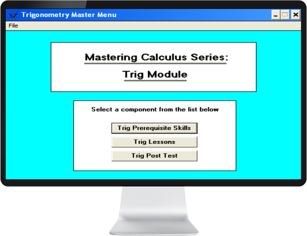 WISKUNDE GRAAD 10, 11, 12 PART 2 (TRIG & CALC) ENGLISH ONLY - IQ SMART LEARNING SOFTWARE  - 1