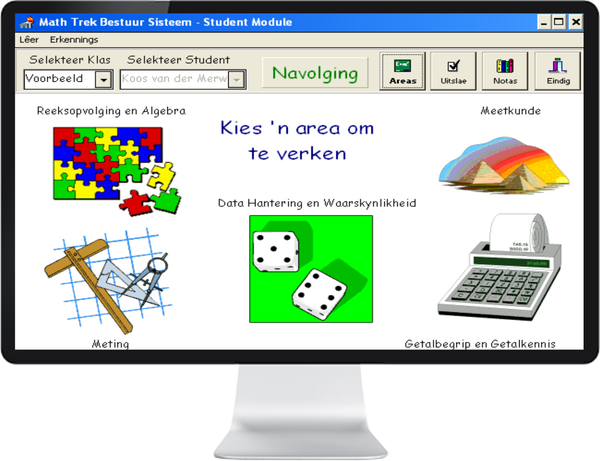 WISKUNDE GRAAD 4, 5, 6 (AFRIKAANS) - IQ SMART LEARNING SOFTWARE  - 1