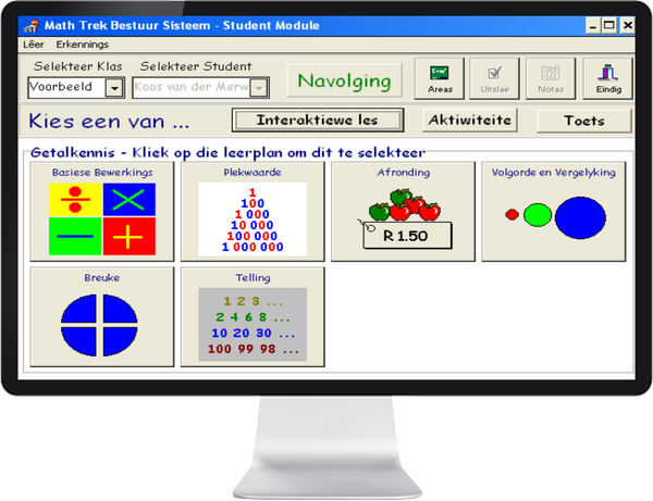MATH TREK 4 - 6 (AFRIKAANS) ST - IQ SMART LEARNING SOFTWARE  - 3