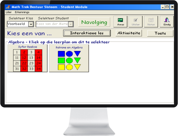 MATH TREK 4 - 6 (AFRIKAANS) ST - IQ SMART LEARNING SOFTWARE  - 4
