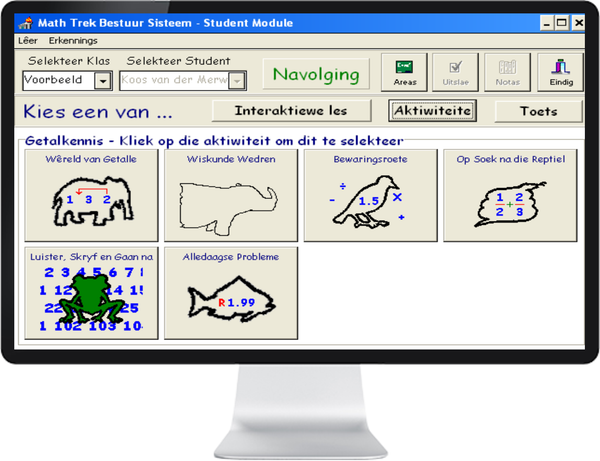 MATH TREK 4 - 6 (AFRIKAANS) ST - IQ SMART LEARNING SOFTWARE  - 5