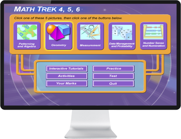 MATHEMATICS GRADE 4, 5, 6 - IQ SMART LEARNING SOFTWARE  - 1