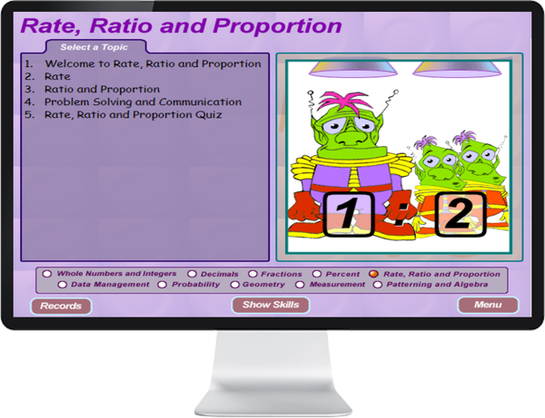 7 DAY FREE TRIAL -  MATHEMATICS GRADE    7, 8 - IQ SMART LEARNING SOFTWARE  - 3