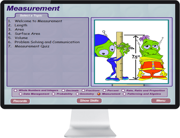 7 DAY FREE TRIAL -  MATHEMATICS GRADE    7, 8 - IQ SMART LEARNING SOFTWARE  - 5