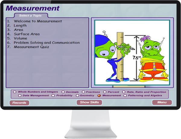 7 DAY FREE TRIAL -  MATHEMATICS GRADE    7, 8 - IQ SMART LEARNING SOFTWARE  - 6