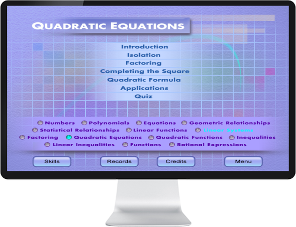 MATHEMATICS GR 9, 10, 11, 12 - IQ SMART LEARNING SOFTWARE  - 7