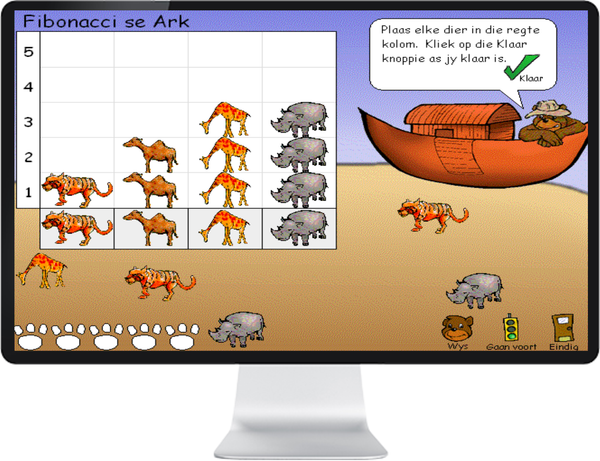 MATH TREK R -3 (AFRIKAANS) SR - IQ SMART LEARNING SOFTWARE  - 2